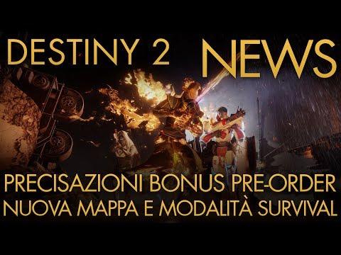 Destiny 2   NEWS: Precisazione BONUS PRE-ORDER / Modalità Survival / Nuova Mappa