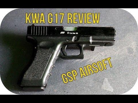 KWA G17 GBB - Softair Review (GsP Airsoft) [german/deutsch] HD+