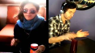 """Cup game beat remix featuring KARTIV2: """"Fill up your cups!"""""""