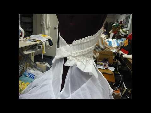 Ann Kagawa Lee's 2009 cheapchicweddingscom toilet paper wedding gown