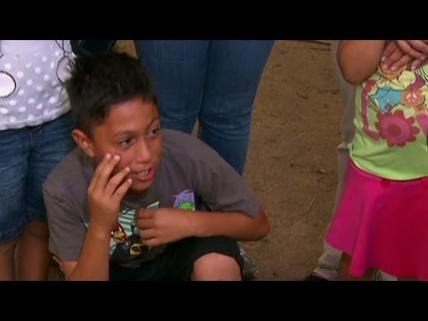 Kid on Oklahoma tornado: It was scary