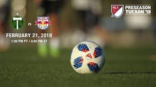 MLS preseason-NYRB vs Portland Timbers