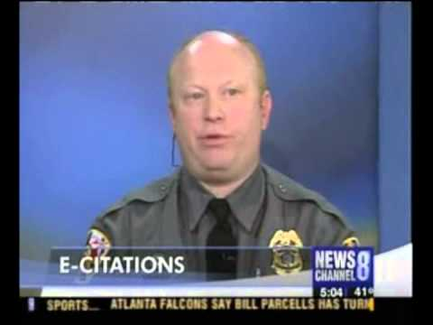 News segment in 2007 on the Washington, DC area TV News Channel 8 Program. The original E-Citation program in Maryland was created by Cpl. Richard Hartnett (...