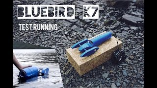 RC Bluebird K7 - EDF Jet Boat Speed Testing on Coniston