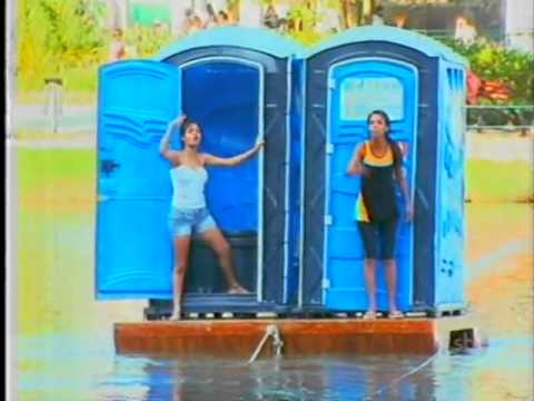 Programa Silvio Santos - Câmera Escondida: Banheiro na Balsa