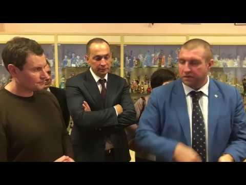Встреча Шестуна и Стрельникова с Дмитрием Потапенко