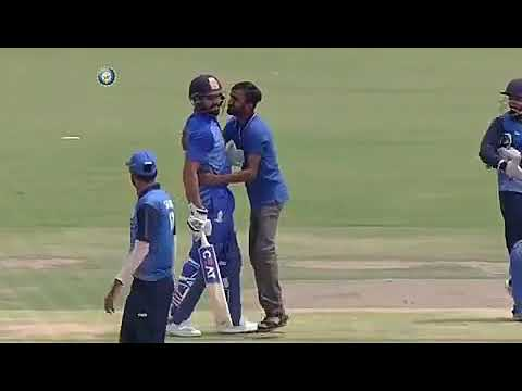 Rohit sharma great player with song