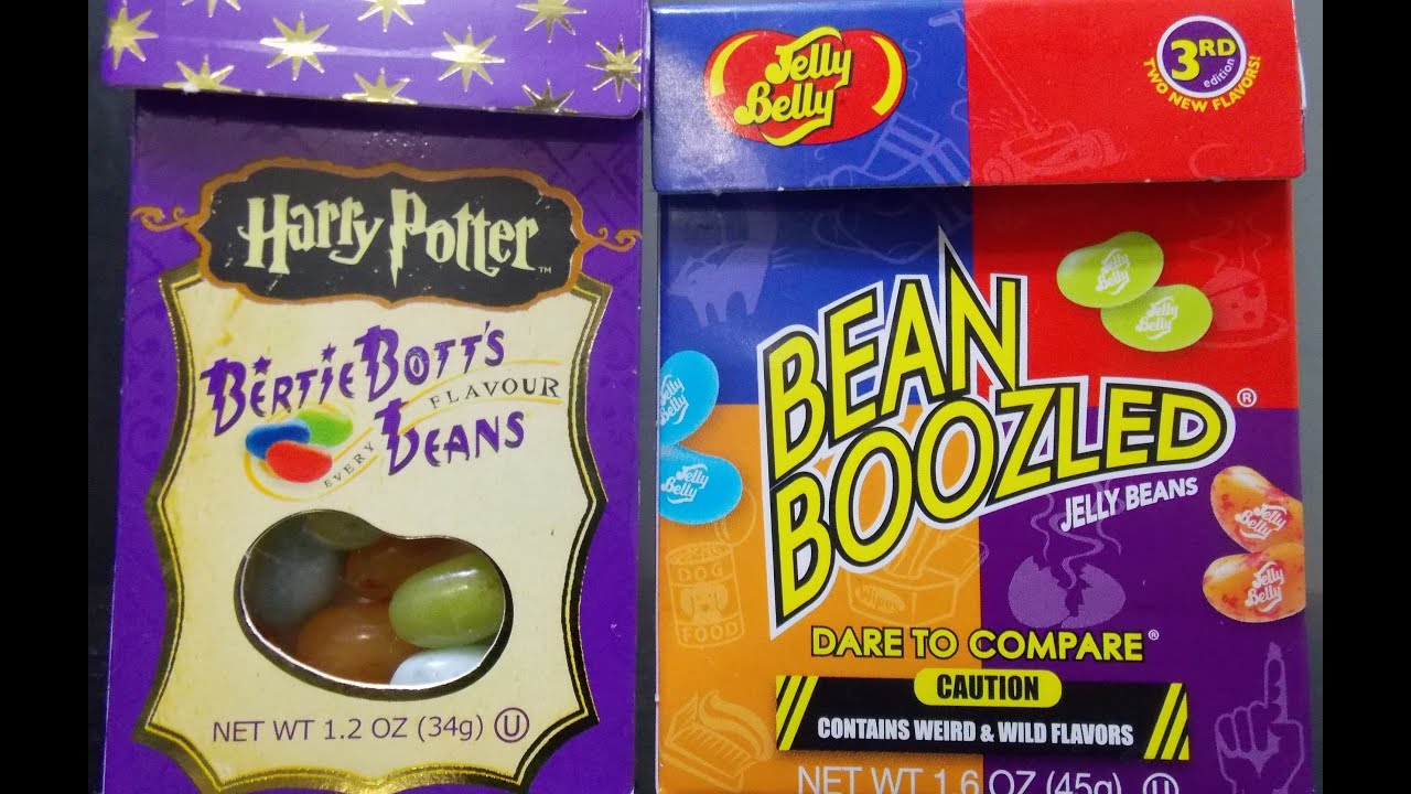 Bean Boozled And Harry Potter Jelly Bean Challenge Youtube
