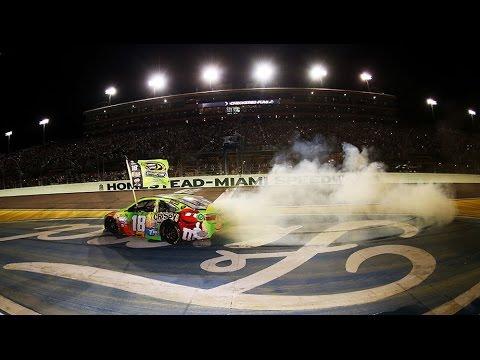 In-car: Busch's final laps at Homestead