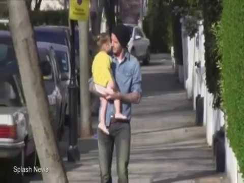 David Beckham & Harper Beckham (daddy's little princess)