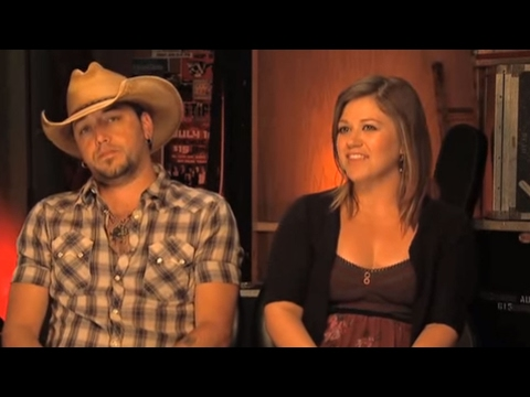 Jason Aldean &#038; Kelly Clarkson - How Do You Describe Each Other? (w/ :30)
