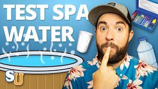 How To Test Hot Tub Water | Swim University