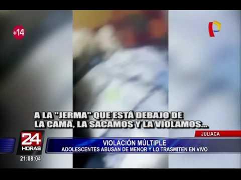 Juliaca: adolescentes abusan de menor y lo transmiten en Facebook thumbnail