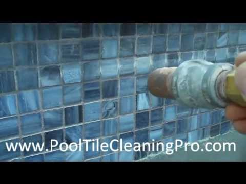 OC Pool Tile Cleaner - Deck o Seal - Acid Washing   Dry Mineral Blasting Glass Pool Tile