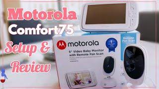 Motorola Baby Monitor: Motorola Comfort 75 Monitor Setup and Review