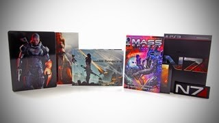 Mass Effect 3 Collector's Edition Unboxing