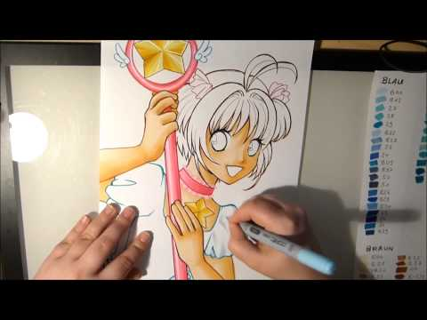 Drawing with Yelilo - Card Captor Sakura - Speed Painting