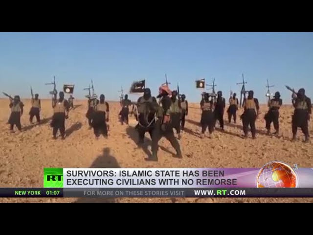Chopping limbs, electric shock & chemical burning - just some ISIS atrocities