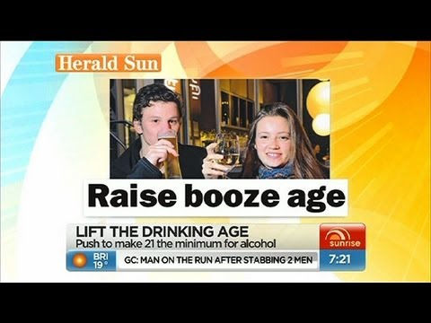 Sunrise - Should the drinking age be raised?
