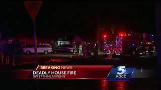 Deadly SW OKC house fire