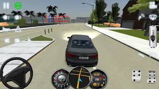 Drifting With my new car (Audi a6) School of driving 2017