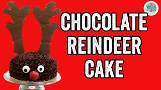 REINDEER CHOCOLATE CAKE RECIPE