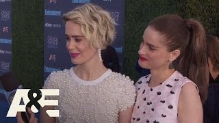 Sarah Paulson and Amanda Peet on the Red Carpet | 22nd Annual Critics