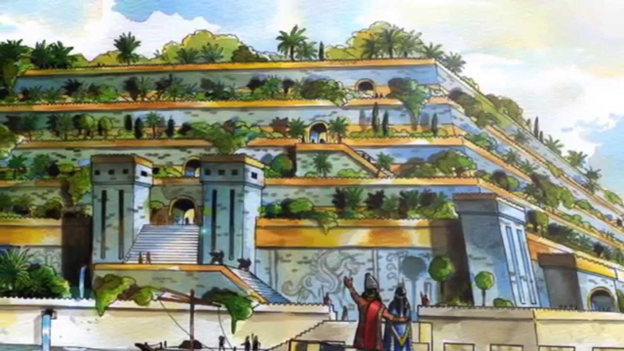 Las 7 maravillas del mundo conoce las siete maravillas for Los jardines colgantes de babilonia