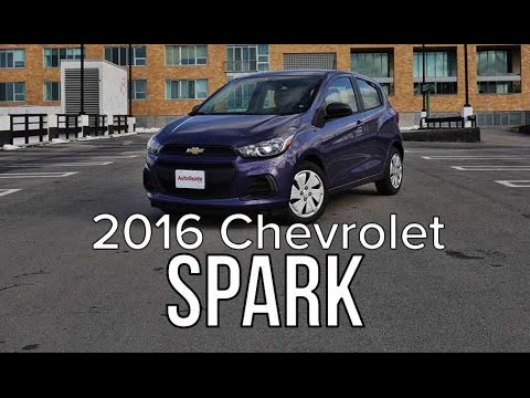 2016 Chevrolet Spark Review