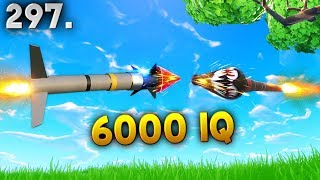 6000IQ GUIDED MISSILE.. Fortnite Daily Best Moments Ep.297 (Fortnite Battle Royale Funny Moments)