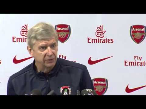 Arsene Wenger Press conference March 14 pre-Tottenham