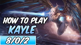HOW TO PLAY KAYLE | Build & Runes | Diamond Aether Wing Kayle | League of Legends