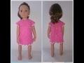 Моя новая модель кукла Готц и вязанные для неё наряды.