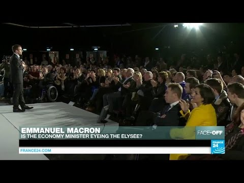 Is French Economy Minister Emmanuel Macron eyeing the top job?