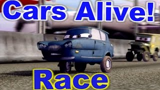 Cars 2: The video Game - Tomber - Race on Runway Tour