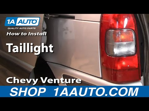 How To Install Replace Taillight Chevy Venture Pontiac Montana 97-05 1AAuto.com