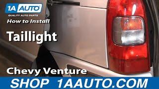 How To Install Replace Taillight Chevy Venture Pontiac Montana 97-05 1AAuto.com
