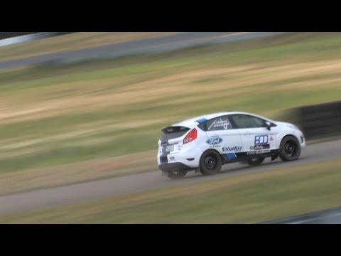 US Rallycross! Fiesta Beats 911, Supercharged Mustang, Worked RX7