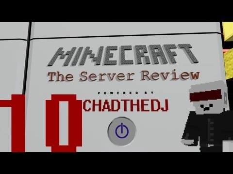 Minecraft Server Review 10 - Mau5ville (Deadmau5 builds his epic sign!)