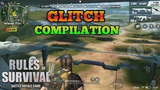 GLITCH COMPILATION 2018 - Rules of Survival (Tagalog Commentary)