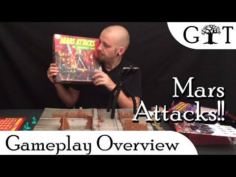 Mars Attacks! Game Overview - Grim Tree Games