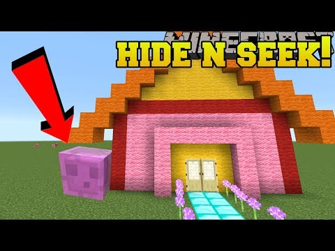 Minecraft: SLIMES HIDE AND SEEK!! - Morph Hide And Seek - Modded Mini-Game