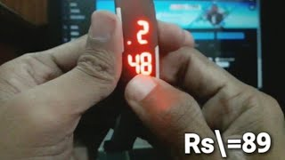 LED Digital Watch Rubber Band Review and Set-up   Daraz.pk