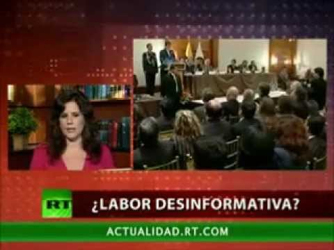 Eva Golinger - Presidente Rafael Correa y la prensa