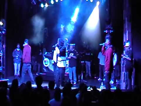 Cali Clones Project (Malay Sage, Planet Asia, Supreme) Live @ The Observatory Santa Ana, CA 3.2.2013 pt 7