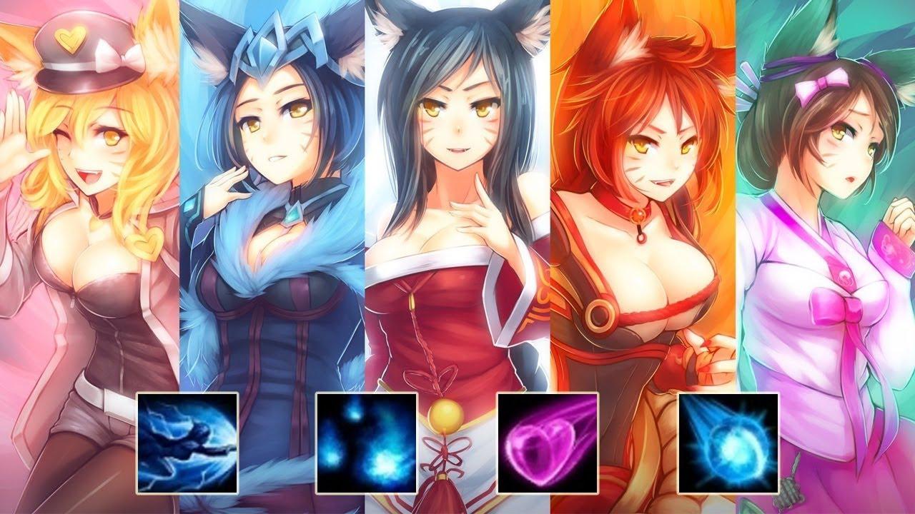 League of legends ahri comic