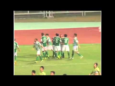 Lai Chi 3-3 Sporting Extended Highlights Match #26 Round 62015 Macau Elite League