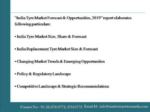 India Tyre Market Forecast and Opportunities