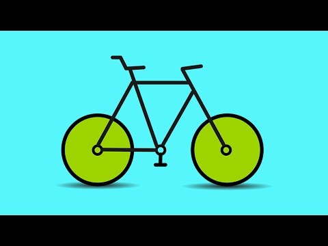 Illustrator Tutorial - Making Cycle Logo Design In Illustrator - Illustrator CC