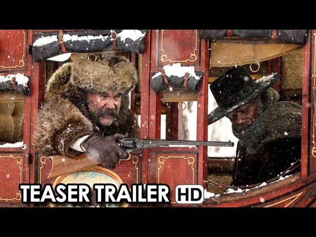 THE HATEFUL EIGHT Teaser Trailer (2015) - Quentin Tarantino Movie HD